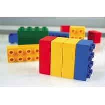 Blocos Monte Fácil Balde 170 Pçs Nina Brinquedos Educativos