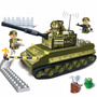 Brinquedo De Montar - Tanque De Guerra - 260 Peças