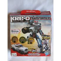 Kre-o / Transformers Autobot Prowl Lote De 174 Peças