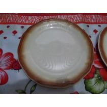 2 Pratos Porcelana Oxford Vitramik-museu Das Louças