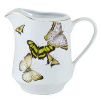 Leiteira Borboletas Porcelana 1l Schmidt