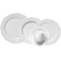 Aparelho De Jantar Redondo 20 Peças White - Oxford