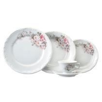 Aparelho De Jantar Em Porcelana Eterna 30 Peças 5371 Schmidt