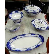 Jogo Jantar Antigo Porcelana Inglesa Raleigh - Cód 109