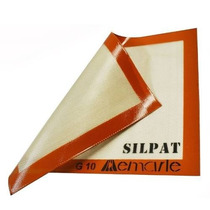 03 Folhas Silicone Silpat 40x30 Cm Antiaderente 40030