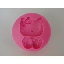 Molde De Silicone Hello Kitty - Para Culinária/confeitaria