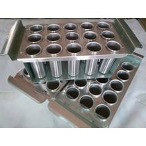 Forma De Picolé Redonda De Aluminio ( Fabricação Própria )