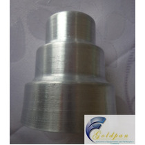 Forminha Mini Bolo De Andar 3 Andares Kit C/ 12 Pçs Aluminio