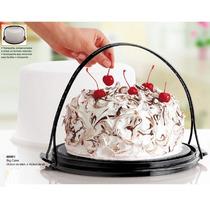 Produtos Tupperware Big Cake 1000ml - Porta Bolo Fumê