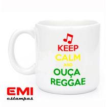 Canecas Engraçadas Keep Calm And Ouça Reggae 1951