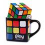 Caneca Quadrada Personalizada Cubo Mágico Rubiks