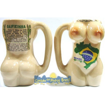 Caneca/copo Corpo De Mulher P/ Caipirinha - Bumbum E Seio