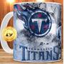 Caneca Tennessee Titans + Mousepad + Caixinha Personaliz