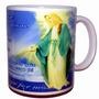 Caneca Oração Maria Santa Santo Presente Mãe Natal Jesus