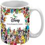 Caneca Personalizada Disney Mickey Donald Pateta Minnie