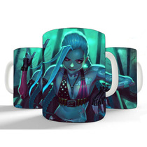 Caneca Personalizada League Of Legends - Jinx Lol