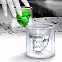 Copo Doomed Caveira Shot Glass
