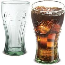 Copo Coca Cola 450ml Vidro Verde - 12 Peças
