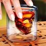 Copo Caveira Doomed 75 Ml Shot Dose Destilados Presente