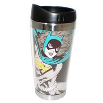 Copo Térmico Com Tampa Batgirl Dc Comics