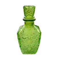 Garrafa Colorida Vintage Vidro - P/ Bebida Estilo Anos 1980