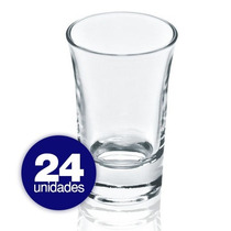 Copo Dose 24 Pçs 50ml Shot Tequila Cachaça Hercules Cd05#24