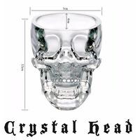 Copo Shot Crânio Cabeça Caveira Crystal Head Pronta Entrega