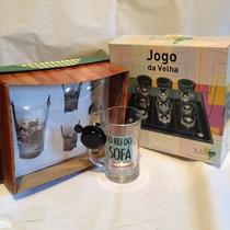 Jogos De Bebida - Jogo Da Velha, Kit Caipirinha E Caneca