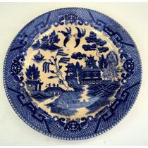 Prato (s) De Refeição Willow / Azul Pombinho Japonês