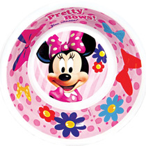 Bowl/tigela Soft Melamine 450ml Minnie Disney Original Lazi