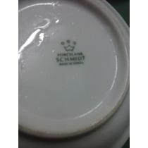 Lote 4 Pires Pratinhos - Porcelana Schmidt Louça