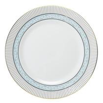 Prato Raso Audrey Porcelana Azul Ø26cm Schmidt
