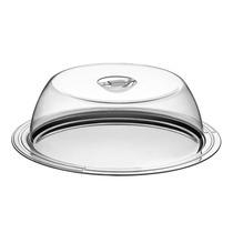 Prato Para Bolo Com Cupula Tramontina Aço Inox Ø 34cm 2 Pe