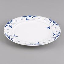 Jogo 6 Pratos Jantar Porcelana 27cm Allegro Wolff R 17037
