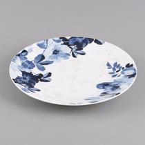 Jogo 6 Pratos Jantar Porcelana 27cm Eden Bleu Wolff R 17017