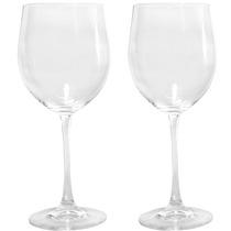 Jogo De Taças Vinho/agua Vintage Bohemia Cristal 700ml 2 Pe