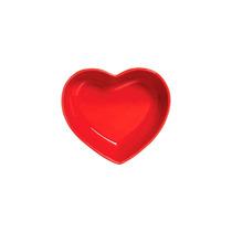 Petisqueira Coração Em Cerâmica Funny 2 Peças 5x18x15cm