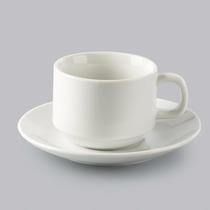 Jogo 6 Xícaras Chá Píres Porcelana Hotel Bon Gourmet R 17097