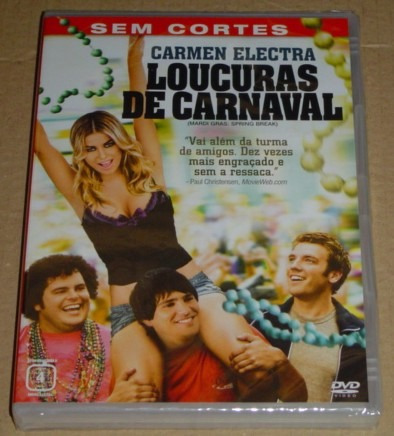Loucuras De Carnaval Filme Comedia Dvd Novo E Lacrado