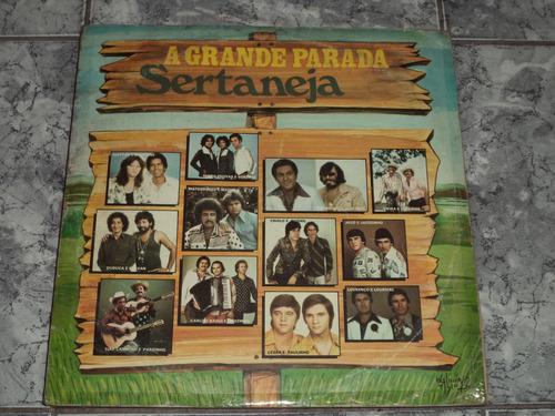 Lp A Grande Parada Sertaneja ( 1982 )