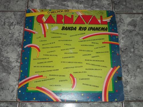 Lp Banda Rio Ipanema - O Melhor Do Carnaval