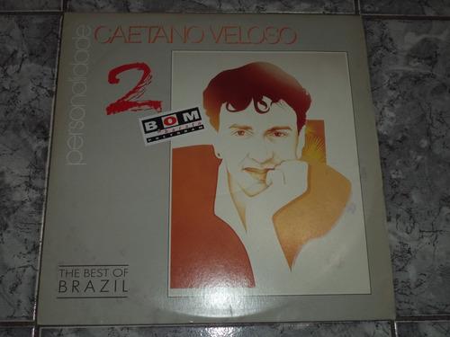 Lp Caetano Veloso - Personalidade ( Com Enc )
