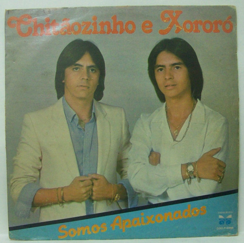 Lp Chitãozinho E Xororó - Somos Apaixonados - 1982