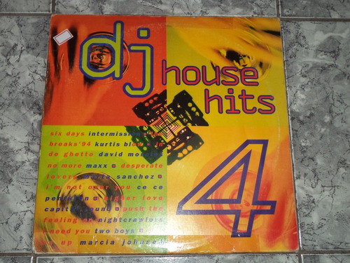 Lp - Dj House Hits - 4