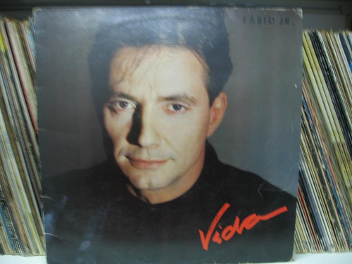 Lp Fabio Jr Junior 1988 Vida + Encarte