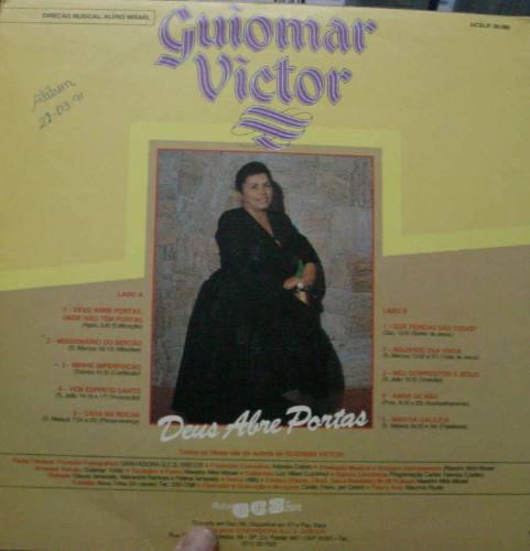 Lp Guiomar Victor - Deus Abre Portas - Frete Gratis