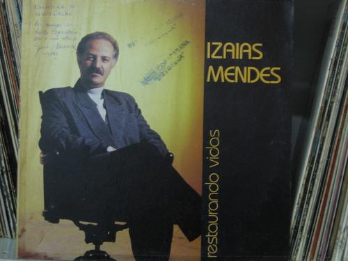 Lp Izaias Mendes Restaurando Vidas Gospel