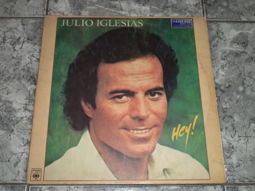 Lp Julio Iglesias - Hey ( Capa Dupla )