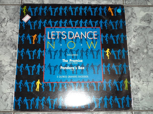 Lp - Lets Dance Now ( Lindoo - Capa / Disco )