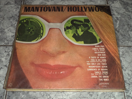Lp Mantovani - Hollywood - Vinil Raro
